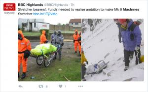 MacInnes Stretcher Tests BBC